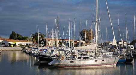 Les bateaux de Ars en Ré