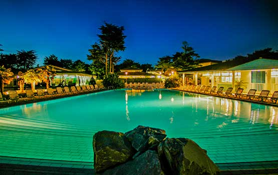 Camping avec grande piscine en Charente Maritime