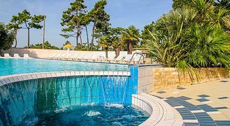 Camping avec jeux aquatiques en Charente Maritime
