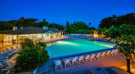 Camping avec piscine en Charente Maritime