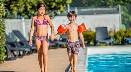 Camping avec piscine pour enfants en Charente Maritime