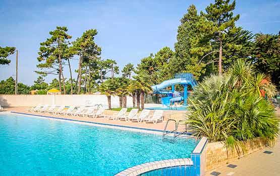 Camping avec toboggan en Charente Maritime