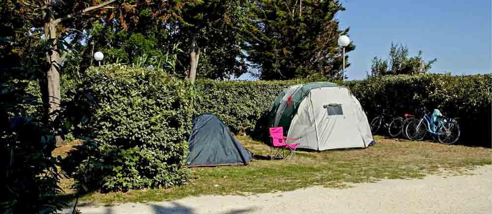 Emplacement camping île de Ré
