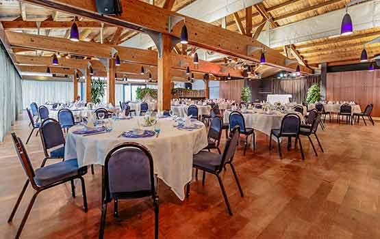 Salle du restaurant de l'Ile de Ré