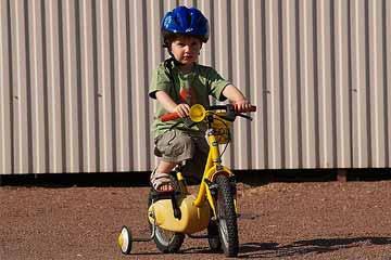 Balades à vélo pour enfants camping Charente maritime