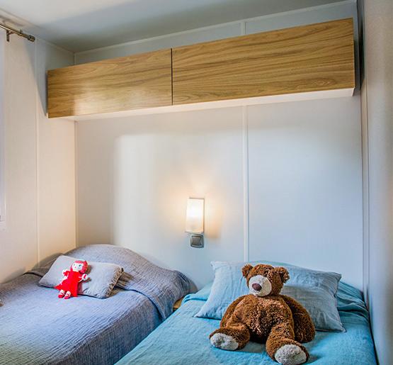 Cottage Privilège 3 Schlafzimmer 2 Badezimmer 36 m² - Camping les ...