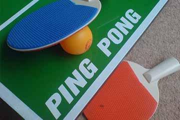 Ping pong en camping Charente maritime