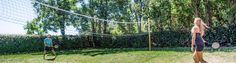 badminton camping les grenettes