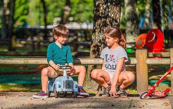 camping pour vacances pour enfants sur l'île de ré