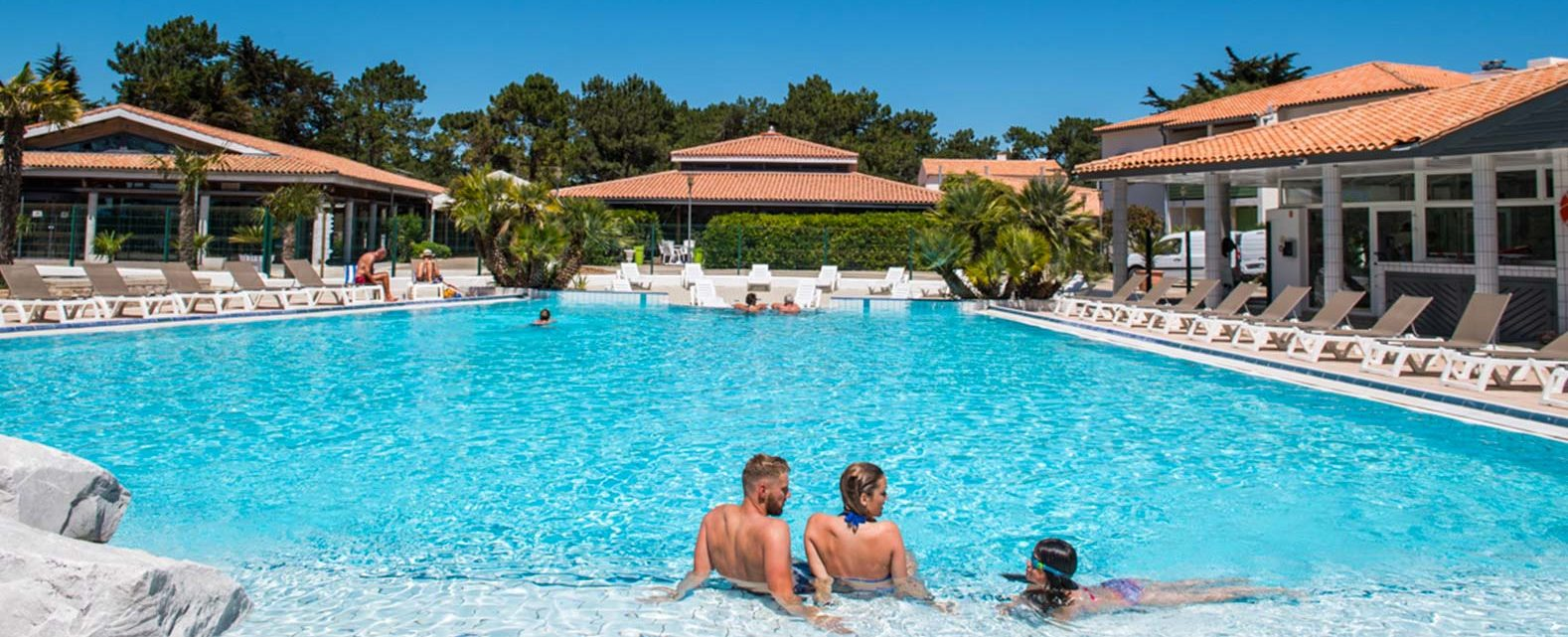 camping seagreen piscine